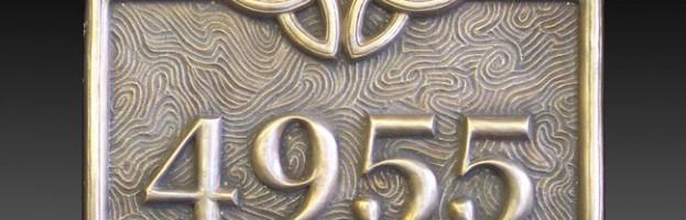 4955 Geske Plaque