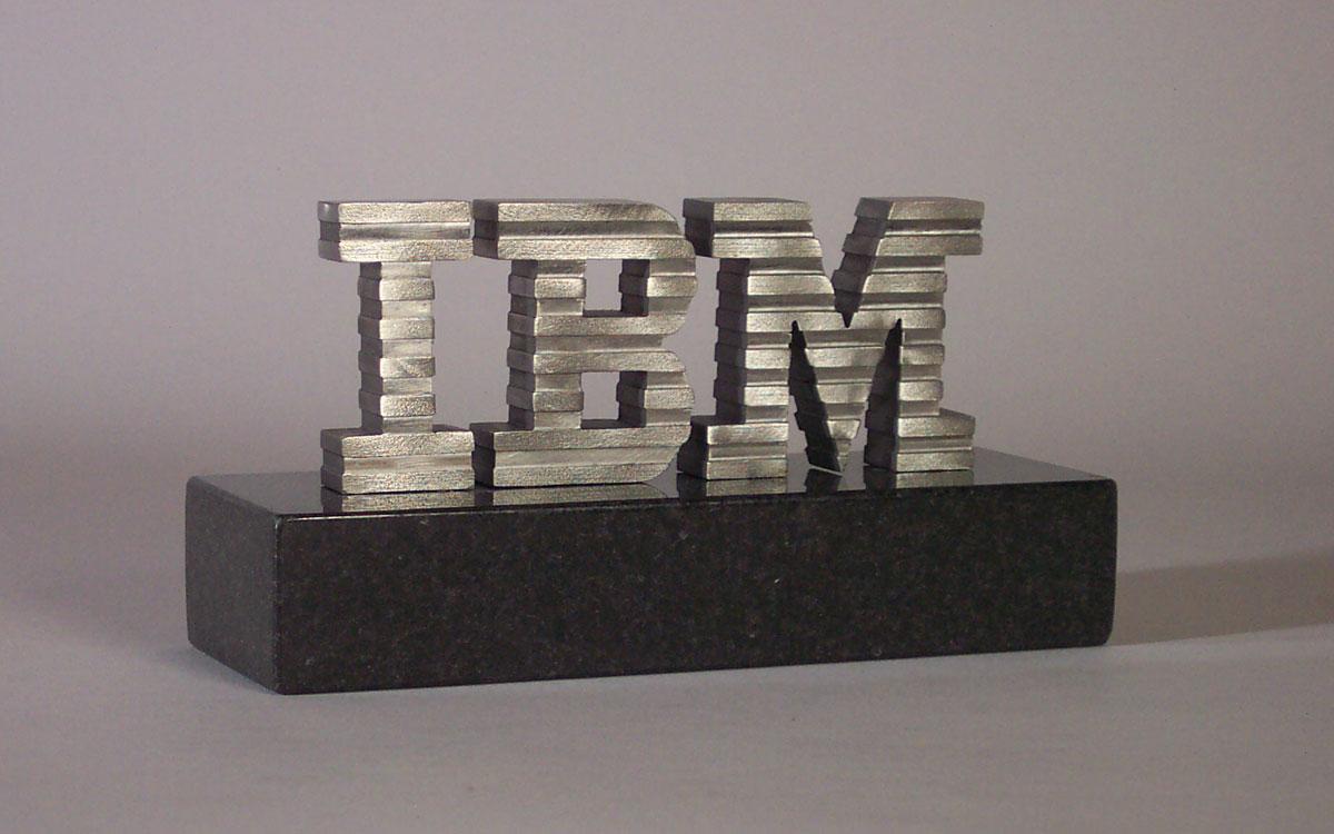 IBM-Paperweight