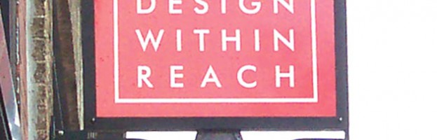 Design Within Reach Store Signage