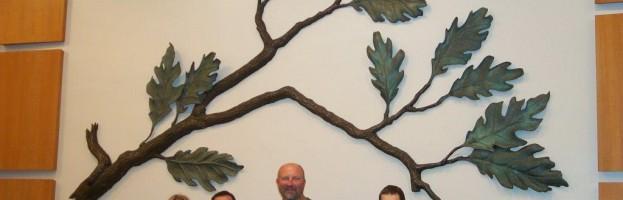 Twelve Tribes Beckman Plaque
