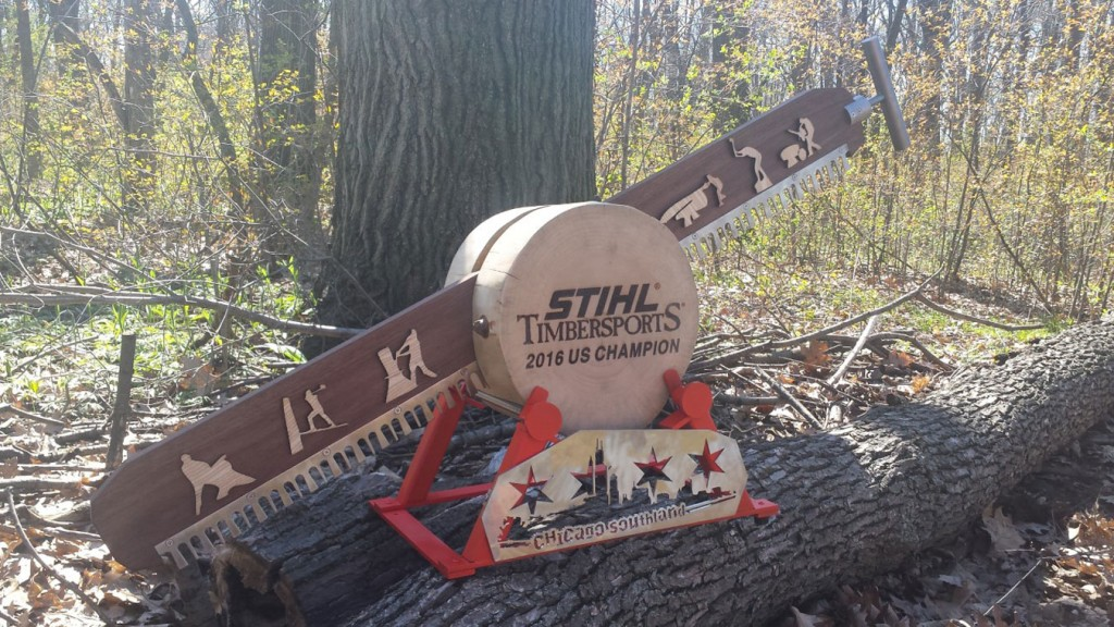 Chicago Southland - Stihl Timbersports 2016 US Champion Award