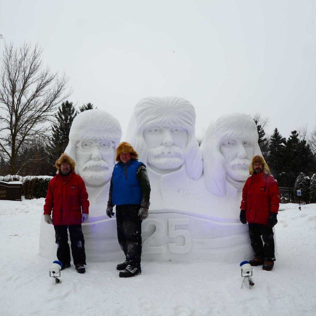Team USA Snow Sculptors - 2015 - 25-year anniversary of team work