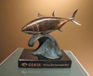 Costa - Cat Cay Tuna Tournament Award 2014